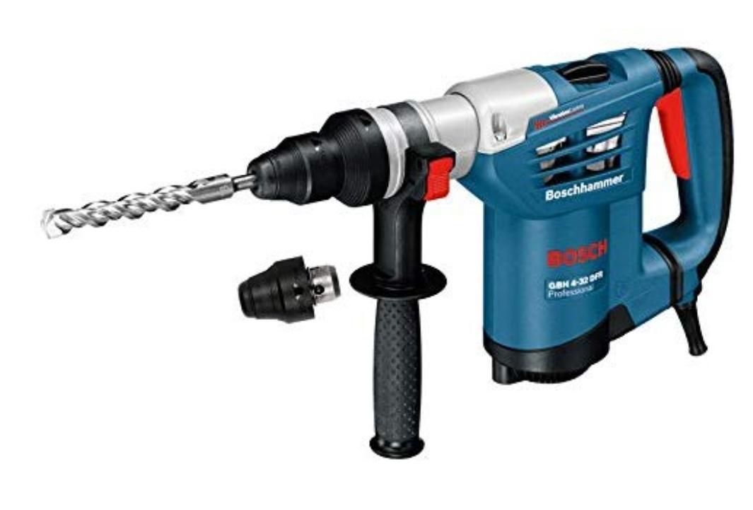 Bosch Professional Bohrhammer GBH 4-32 DFR (900 Watt, SDS-plus, Schlagenergie max: 4,2 J Tiefenanschlag: 310 mm, in Koffer)