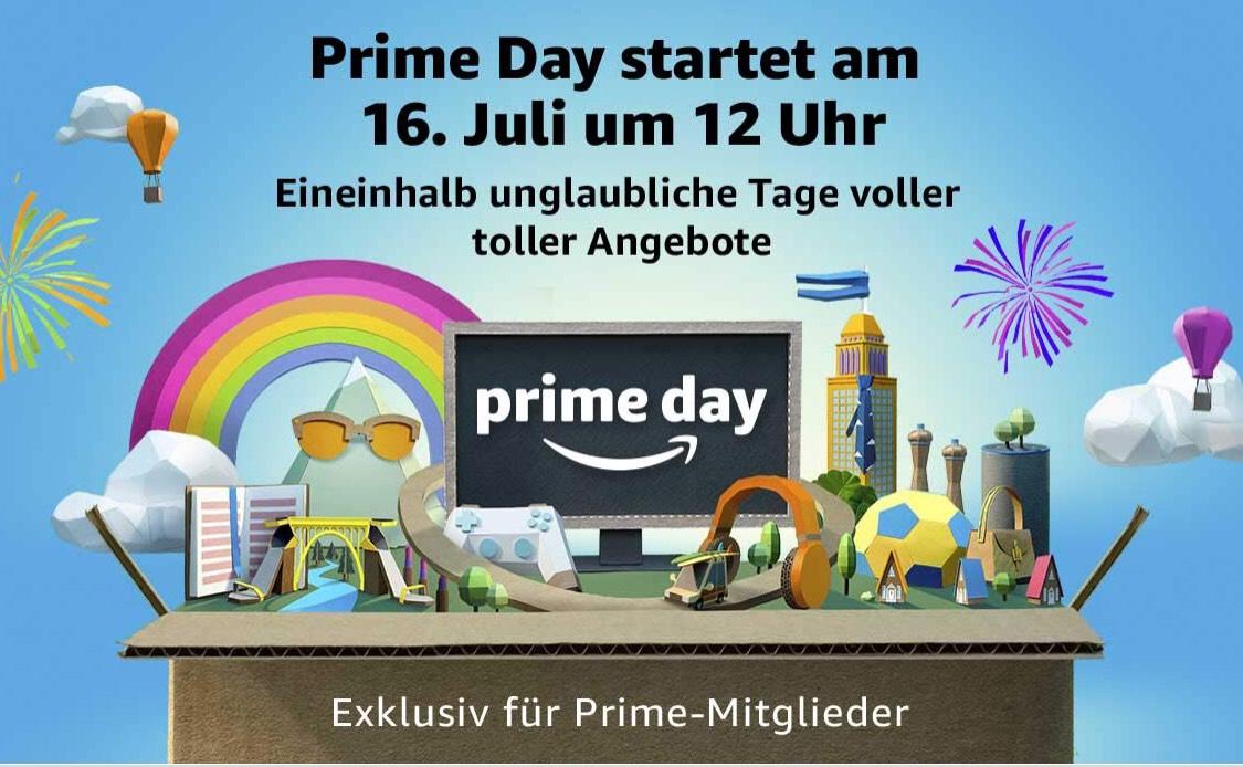 Prime Day - 16. Juli ab 12 Uhr Echo, Fire und Kindle Geräte zum Sonderpreis