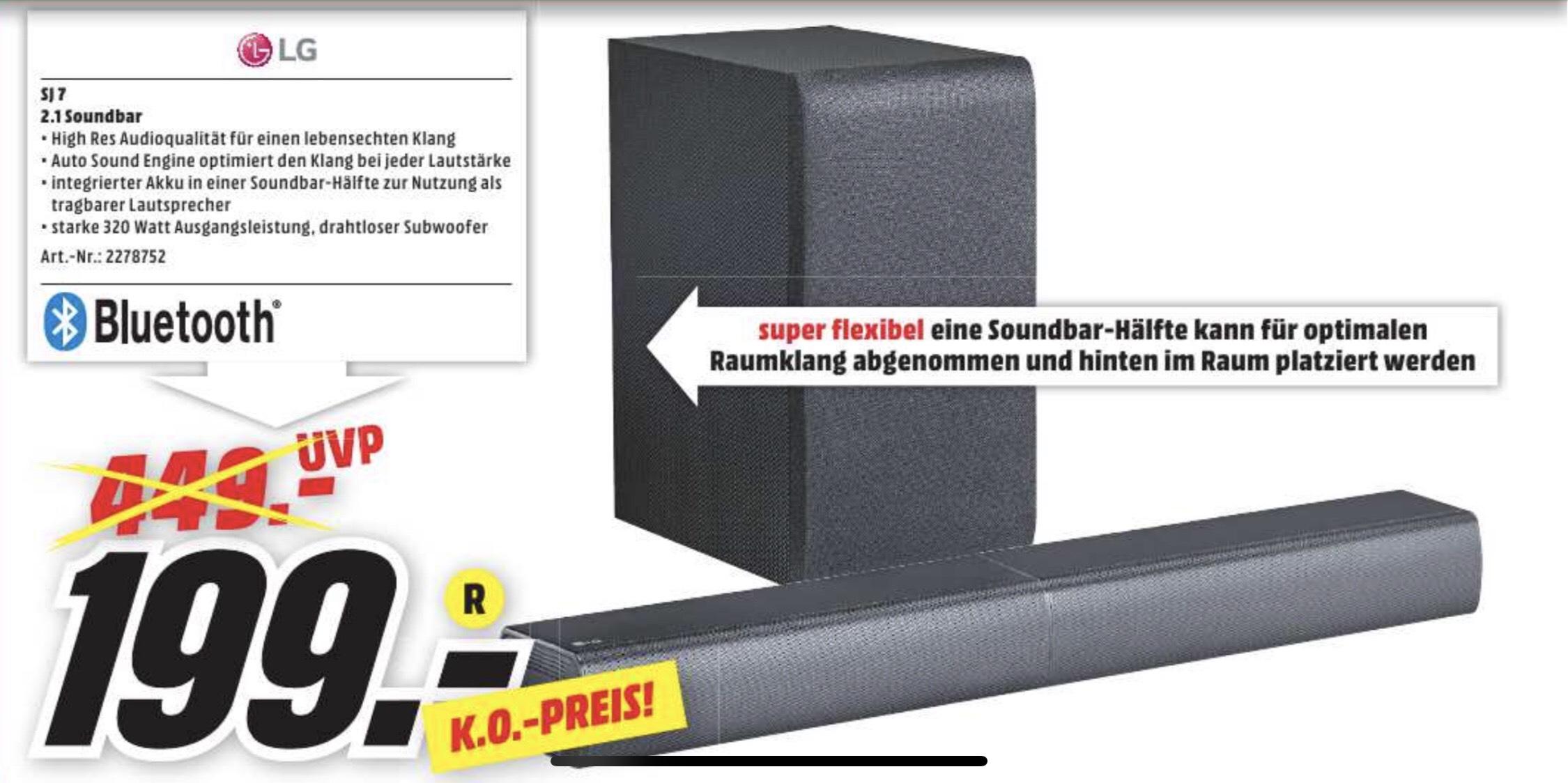 [Regional Mediamarkt Heilbronn] LG sj7 2.1 Soundbar