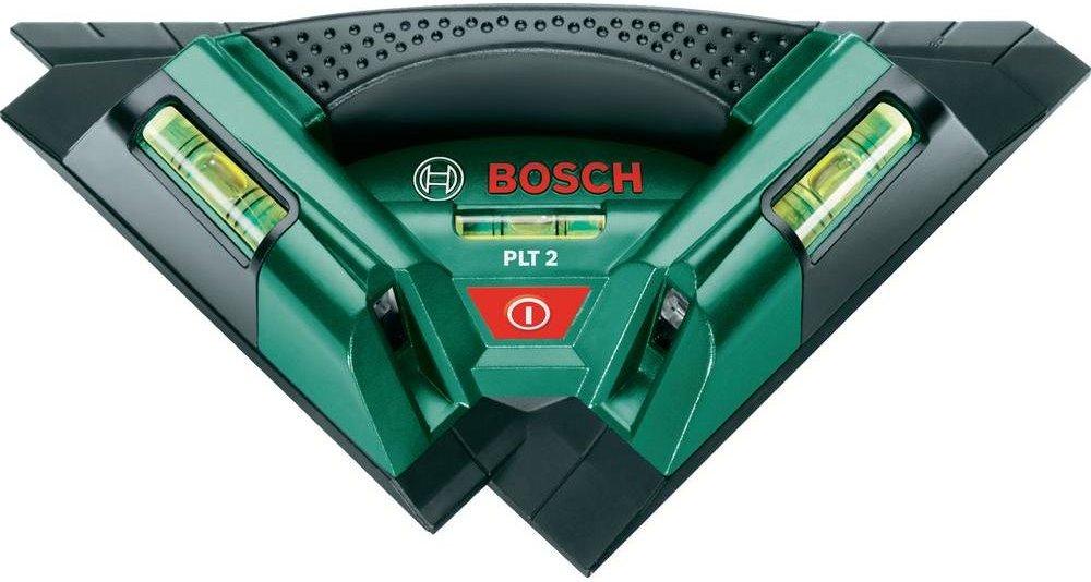 Bosch DIY Fliesenlaser PLT 2 (Arbeitsbereich 7 m, 0,5 mm/m Messgenauigkeit)
