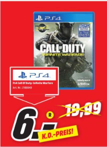 [Regional Mediamarkt Plauen] Call of Duty: Infinite Warfare PS4 für 6,-€