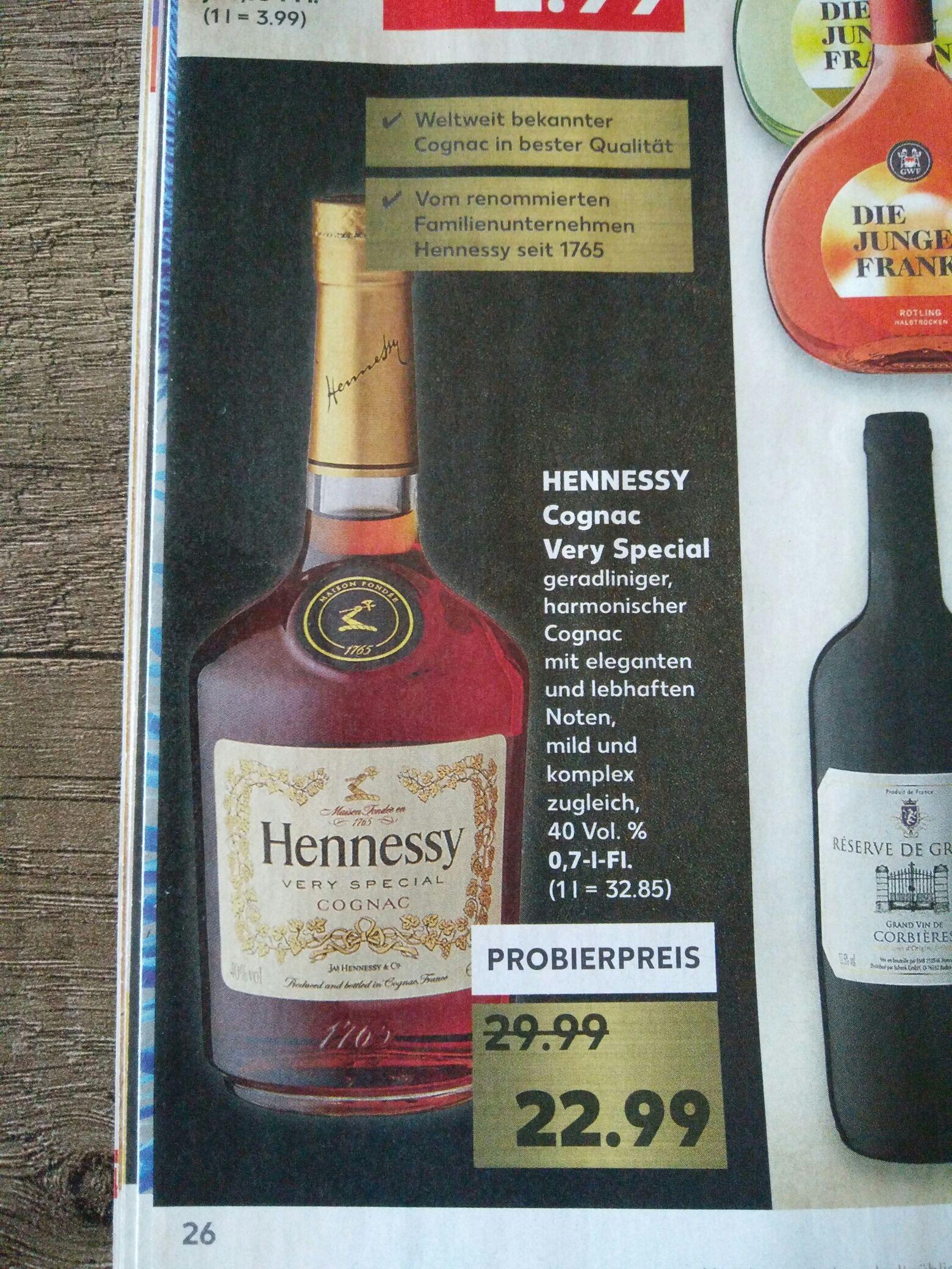 [KAUFLAND] KW27: Hennessy Very Special 0,7l für 22,99€