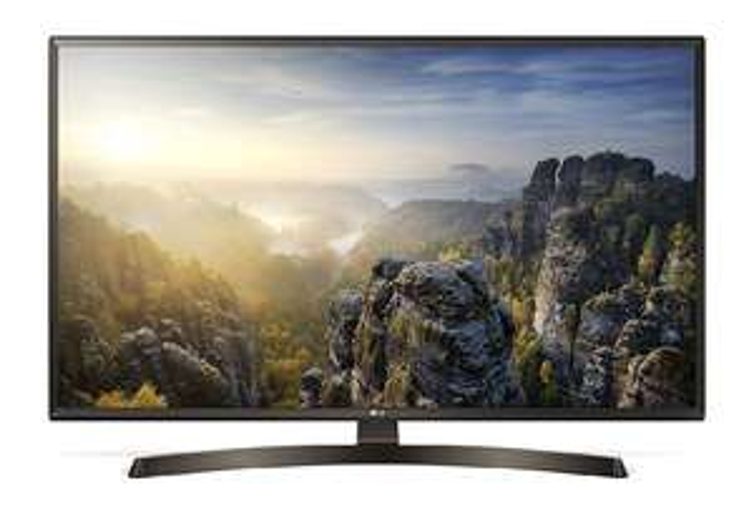 LG 43UK6400PLF 108 cm (43 Zoll) Fernseher (4K UHD, Triple Tuner, 4K Active HDR, Smart TV 2018)