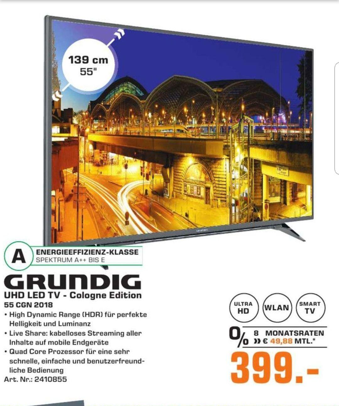 [Lokal Köln Saturn] Grundig Cgn Edition 55 Zoll UHD TV