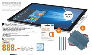 Surface Pro i5 (8GB/128GB) + Type Cover + Surface Pen + Office 365 für 888€ [Lokal Saturn Köln]