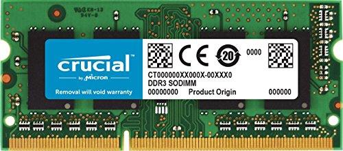 "[Amazon oder MM] Crucial CT2C4G3S186DJM 8GB (4GB x 2) Speicher Kit (für Mac, DDR3L, 1866 MT/s, PC3-14900, SODIMM, 204-Pin) mit ""Umzug"" nur 57,60€"