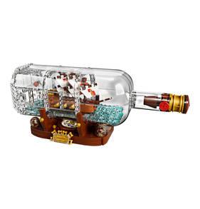 15% Rabatt auf fast alle Spielwaren, z.B. LEGO Schiff in der Flasche (21313)