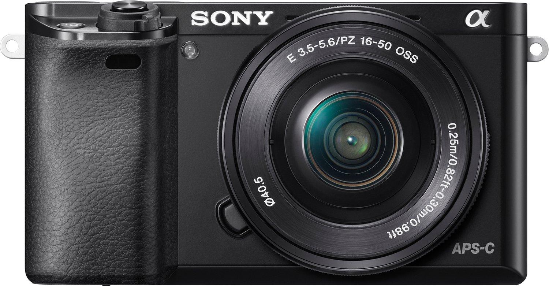 Sony Alpha 6000 Kit 16-50 mm schwarz°Lokal°Mülheim an Ruhr°Media Markt°PVG 537 Euro°Systemkamera°Schwarz