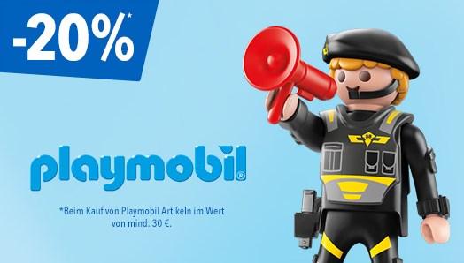 [Toys'R'US] 20% auf alle Playmobil Sachen ab 30€.