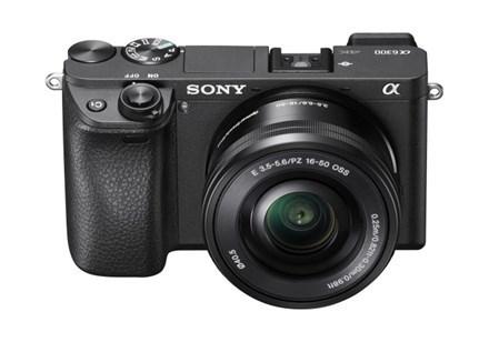 Sony Alpha 6300 Systemkamera (E-Mount, 24 MP, L-Kit 16-50 mm Objektiv) in Schwarz