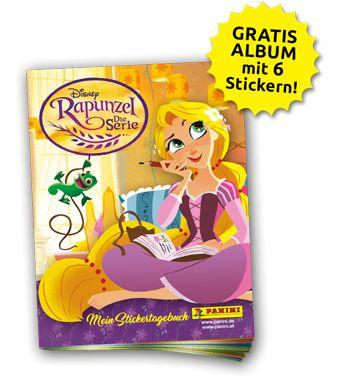 Panini Disney Rapunzel Stickerkollektion - Gratis Album mit 6 Stickern
