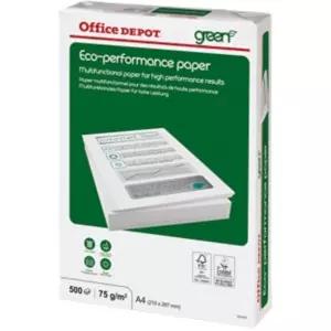 1,99€ netto / 2,37€ brutto - Office Depot Eco Performance Kopierpapier DIN A4 75 g/m² Weiß 500 Blatt (Versandkosten 3,51€ /ab 49€ ohne VSK) [Viking]