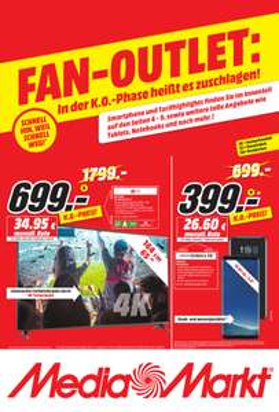 [MediaMarkt Koblenz] LG 65 UJ6309 für 699€, Samsung Galaxy S8 für 399