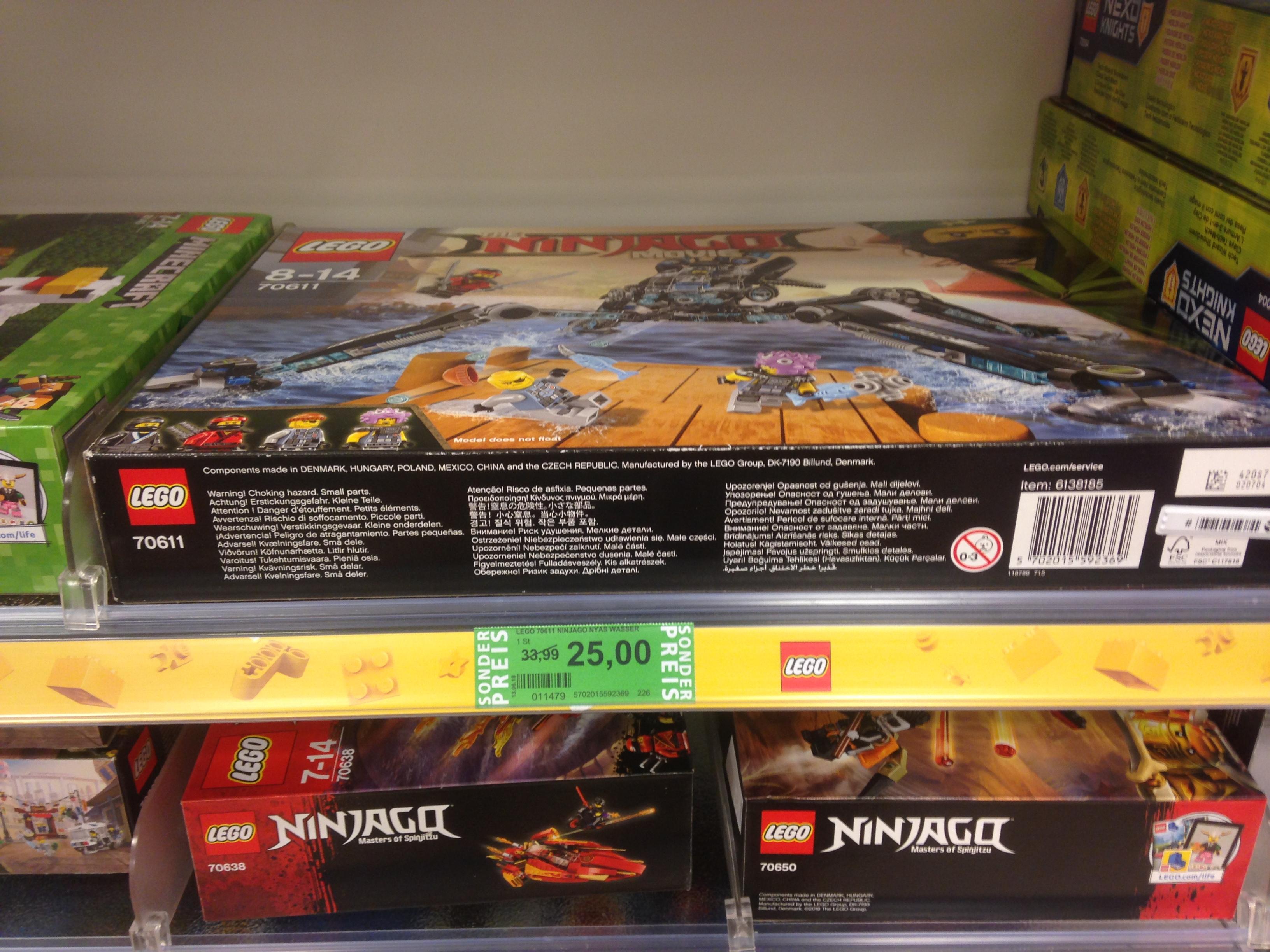 (Rossmann bundesweit) LEGO Ninjago - Nya's Wasser-Walker 70611