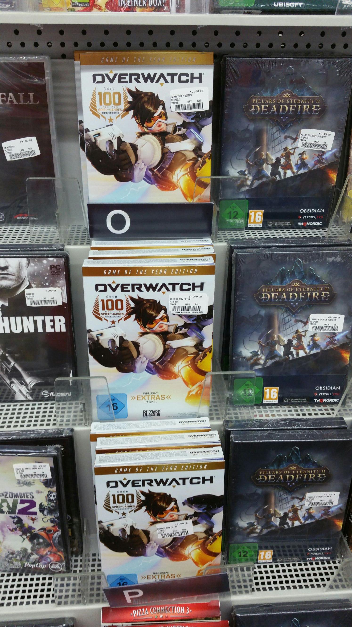 Overwatch GOTY alle Plattformen - lokal MM Main Taunus Zentrum