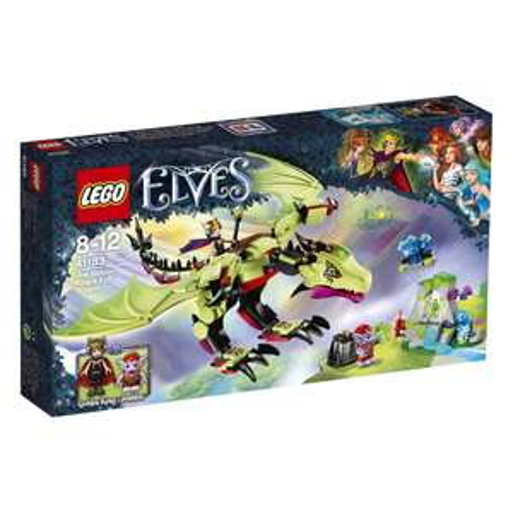 Lego™ - Elves: Der böse Drache des Kobold-Königs (41183) für €17.- [@Real.de]