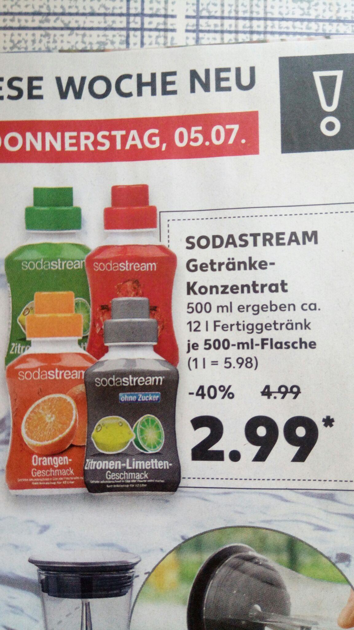 Soda Stream Getränke-Sirup (lokal Kaufland)