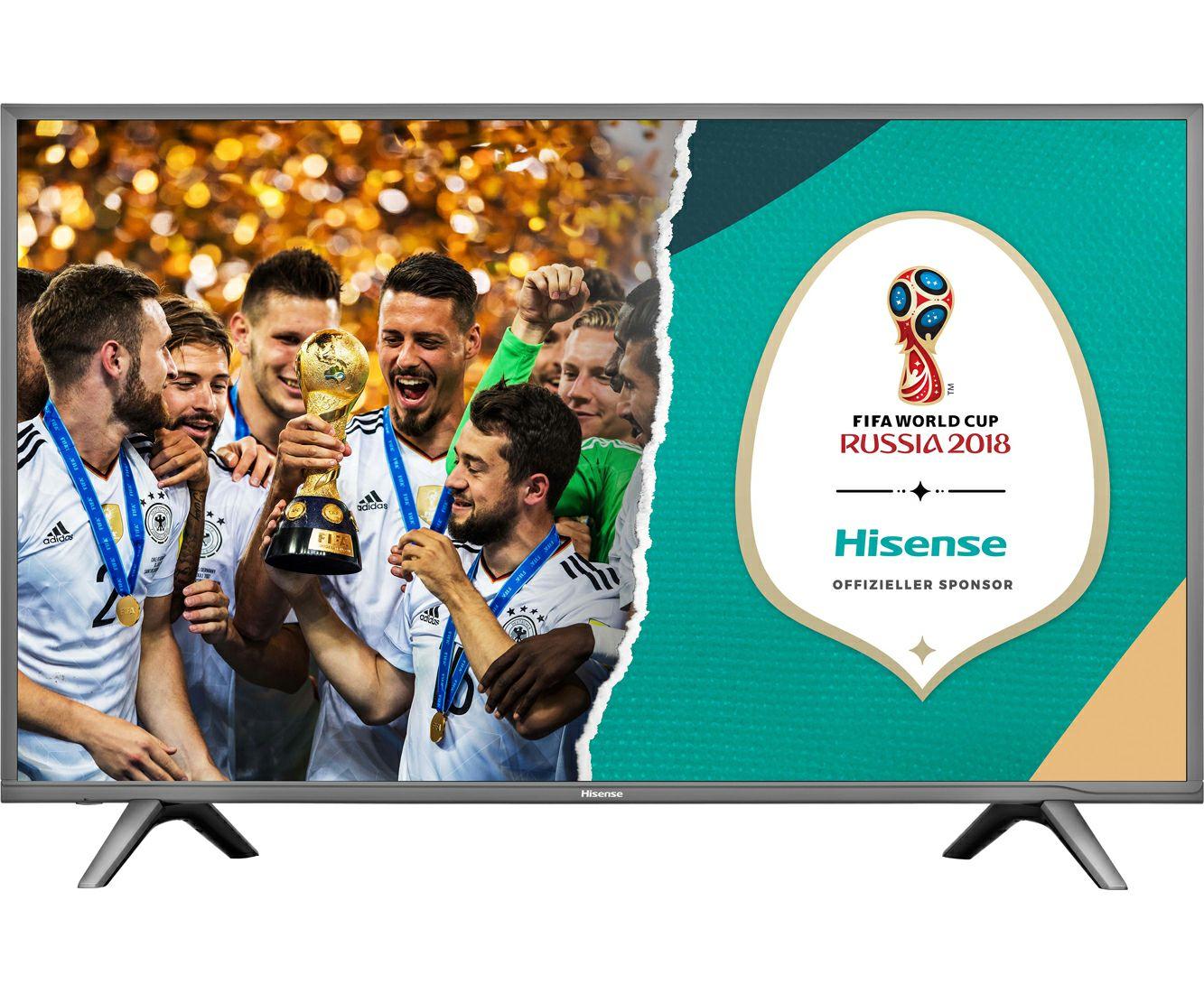 "Hisense H55NEC5605, 4K/UHD-Smart TV, 138 cm [55""] - Grau"