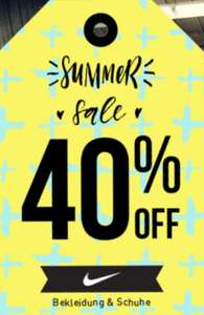 40% Sale auf ALLES von Nike + kostenloser Versand und Rückversand, Beispiele in der Beschreibung [my-sportswear.de]