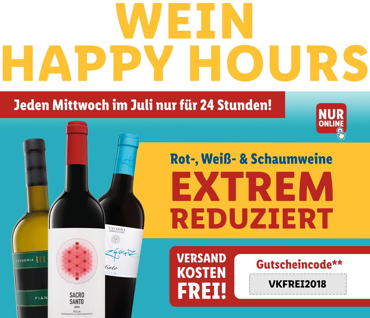 LIDL Wein günstiger und versandkostenfrei - nur heute