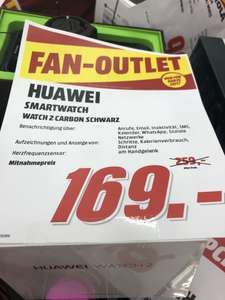 [Lokal Wiesbaden] Huawei Watch 2 Carbon