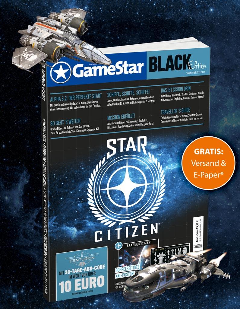 Gamestar Sonderheft inkl. E-Paper (pdf ~247MB) und Versand, Thema: Star Citizen (151 Seiten) mit 10€ Subscribers Gutschein