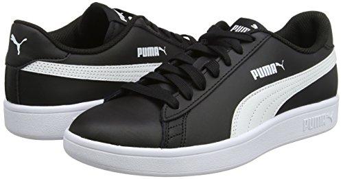 Puma Unisex-Erwachsene Smash V2 L Sneaker - Amazon Prime (VIELE Größen) schwarz &weiß