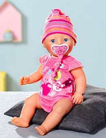 Babyborn Interactive mit viel Zubehör (Windel, Töpfchen, Schnuller) bei GALERIA Kaufhof und Amazon