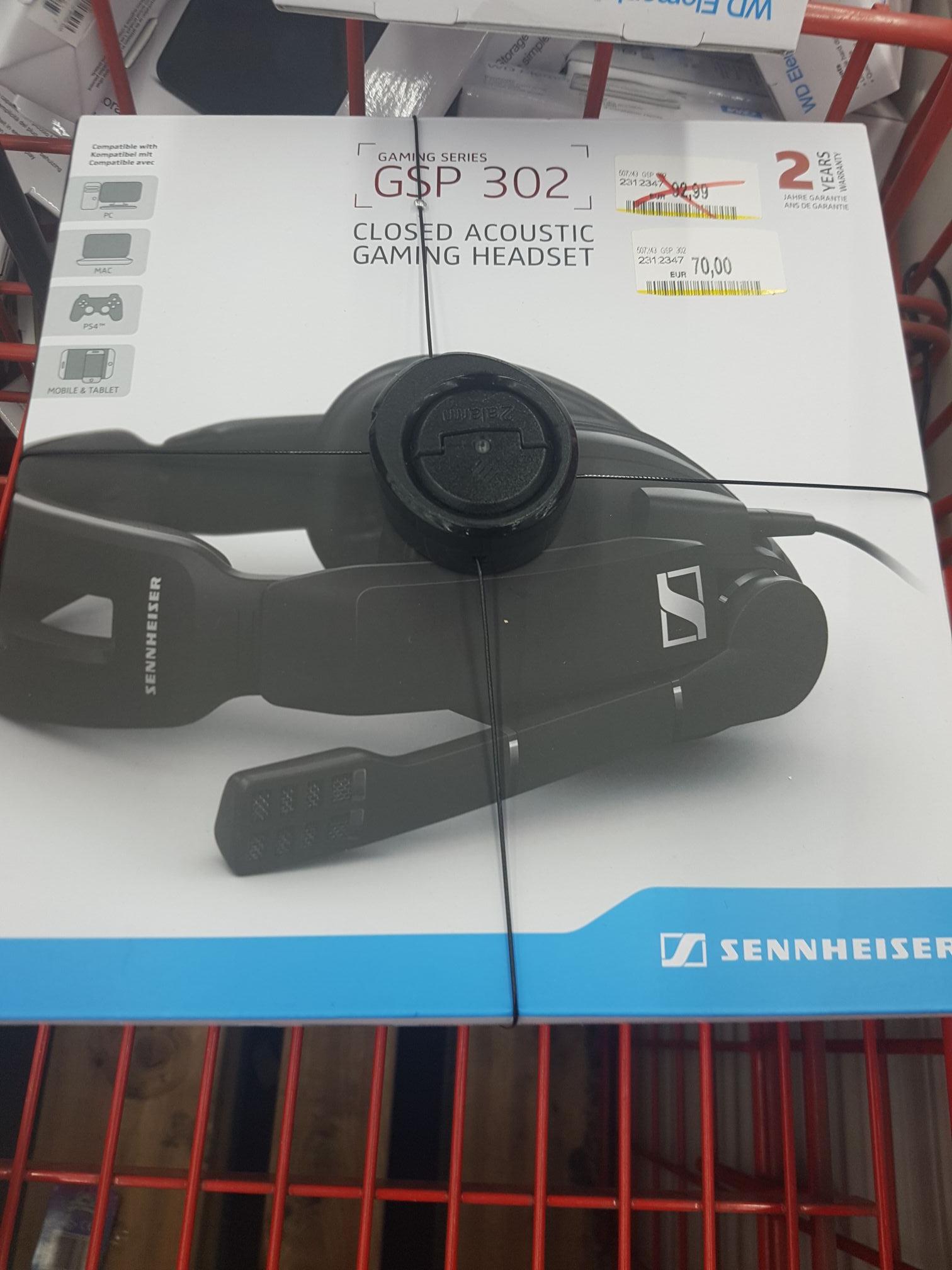 Sennheiser Gaming Series GSP 302