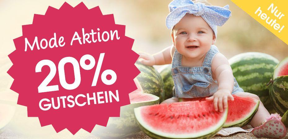 20% Rabatt auf Mode, auch auf Sale-Artikel bei Babymarkt.de