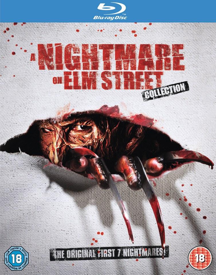 Nightmare On Elm Street Collection 1-7 (Blu-ray) für 11,49€ (Zavvi)