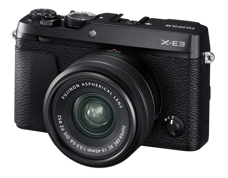 Fujifilm X-E3 Systemkamera (24,3 MP) inkl. XC15-45mm Objektiv Schwarz // Amazon.de