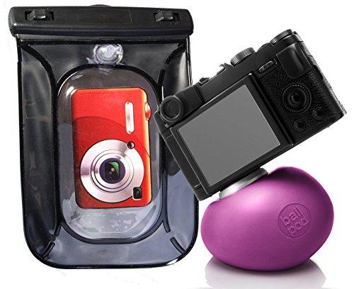 Ballpod (violett bzw. pink) mit unterwassertasche