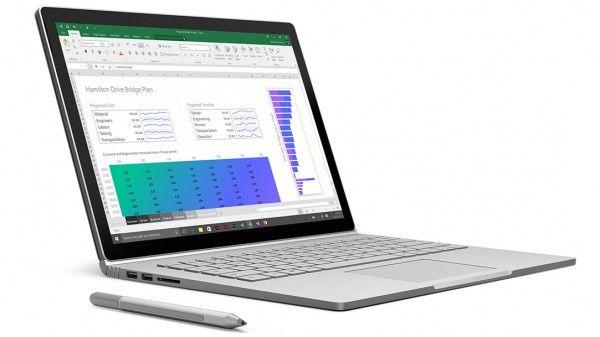 Microsoft Surface Book - Core i5-6300U @ 2,4Ghz - 8GB RAM - 128GB SSD - Win10Pro