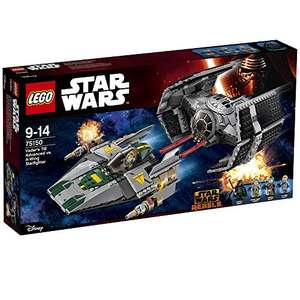 [Amazon ES] LEGO Star Wars (75150) Vader's TIE Advanced vs. A-Wing Starfighter