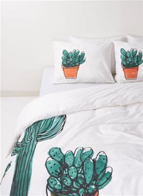 Schlafzimmertextilien: 2. Produkt zum halben Preis, z.B. 2 x Bettwäsche in den Maßen 200x200 cm (mit je 2 Kissenbezügen)