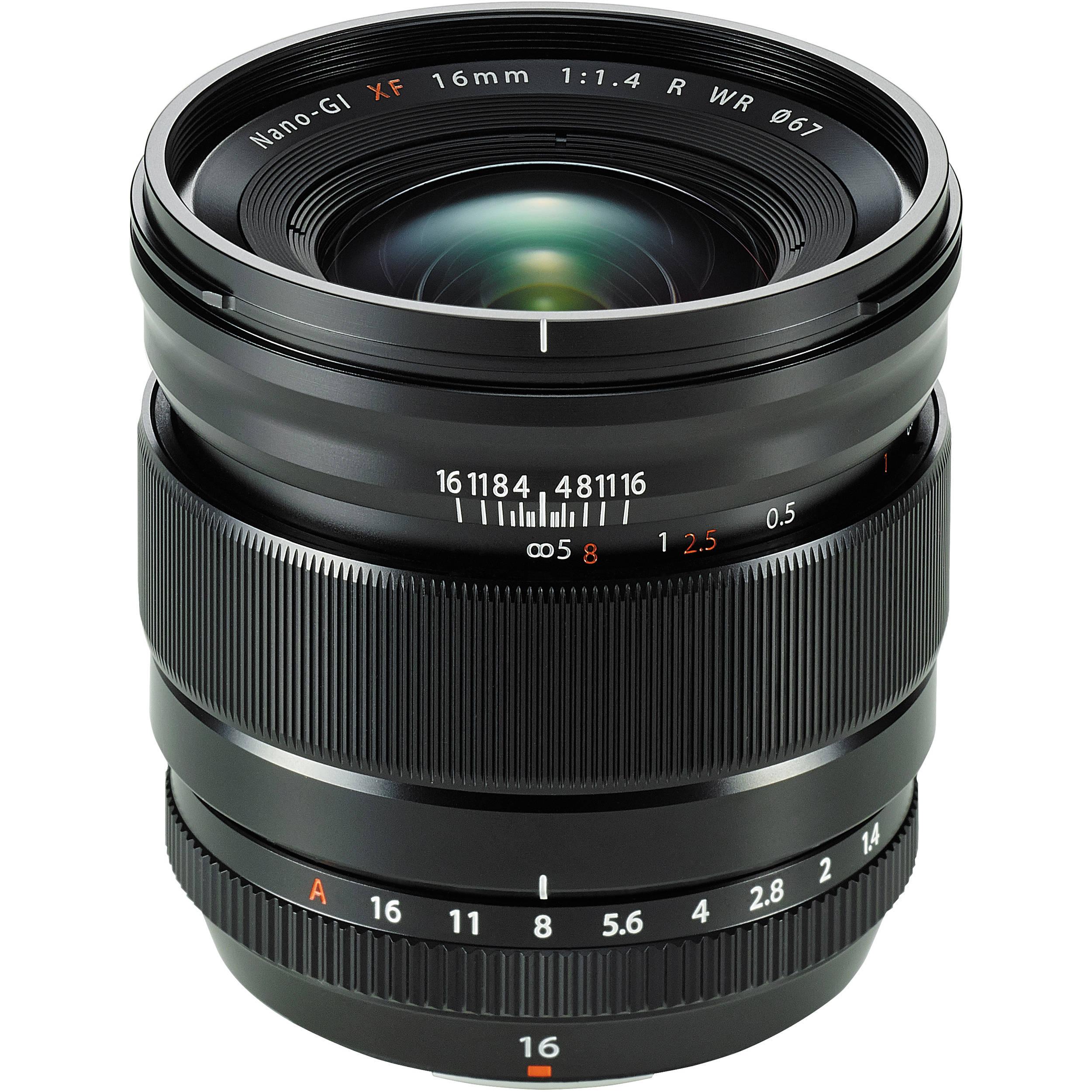Fujifilm Fujinon XF 16mm F1.4 R WR (Amazon.co.uk Prime)