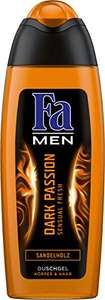 [AMAZON Plusprodukt] 6er Pack (6 x 250 ml) Fa Men Dark Passion Sensual Fresh Duschgel mit 25% Coupon