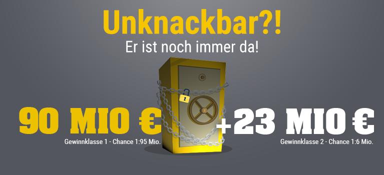 [GMX.net / Web.de / Lotto24] 2 x Eurojackpot 2 Felder für den Preis von 1 (47 % Rabatt)