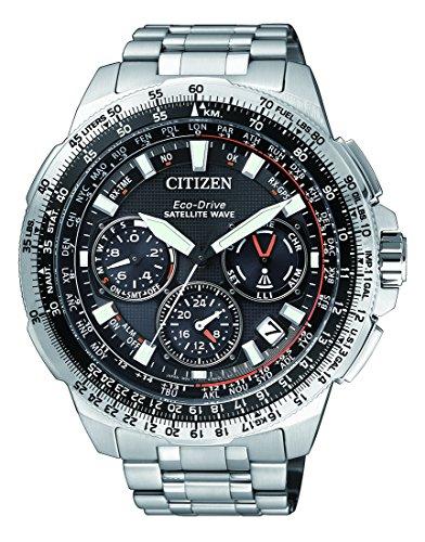 [Amazon oder Timeshop] Citizen Herren-Armbanduhr Promaster Sky Satellite Wave Chronograph Quarz Titan CC9020-54E