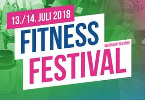 Worldfitnessday 2-Tages-Ticket kostenlos