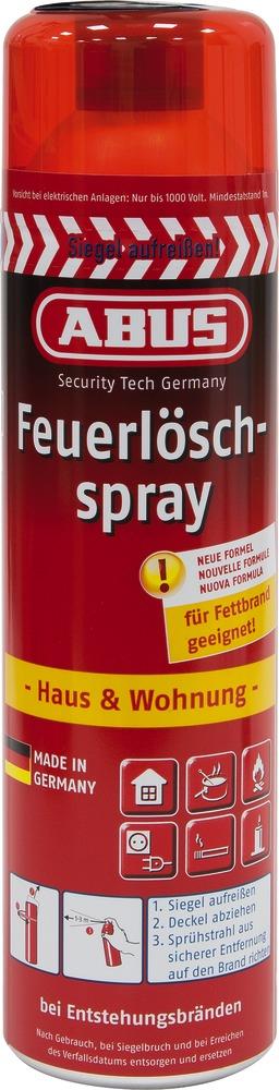 ABUS Feuerlöschspray FLS 580 - ideal gegen Fettbrand in der Küche