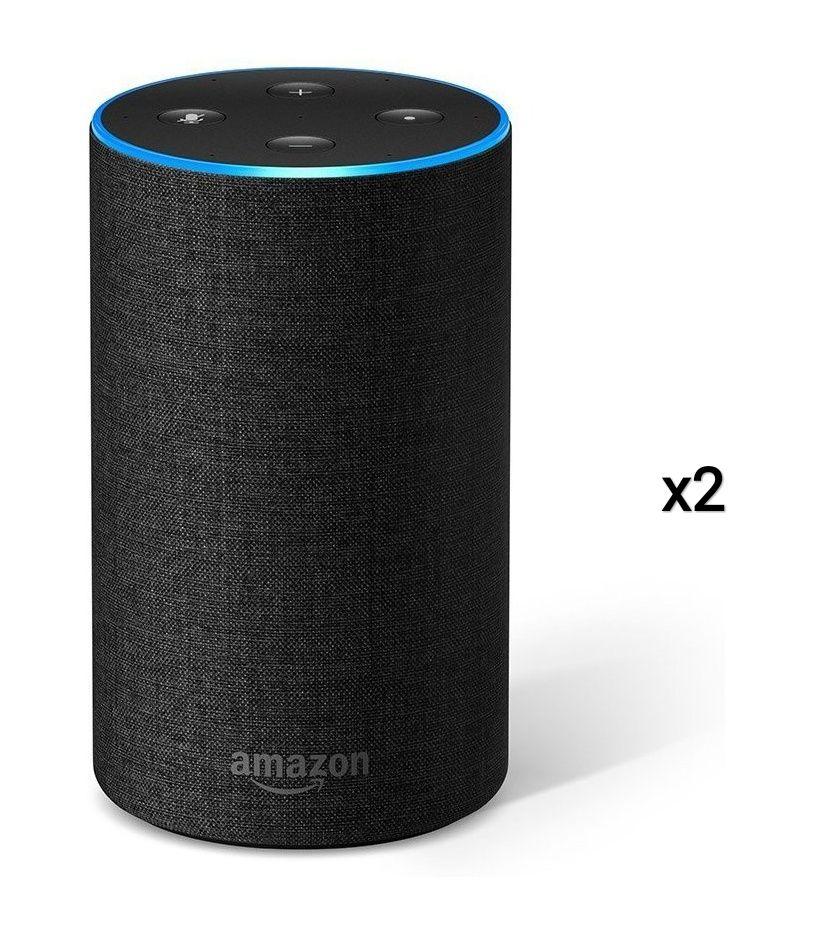 25€ Rabatt beim Kauf von zwei Amazon Echos (2. Generation) // 40€ Rabatt beim Kauf von zwei Echo Spots // 150€ Rabatt beim Kauf von zwei Echo Shows