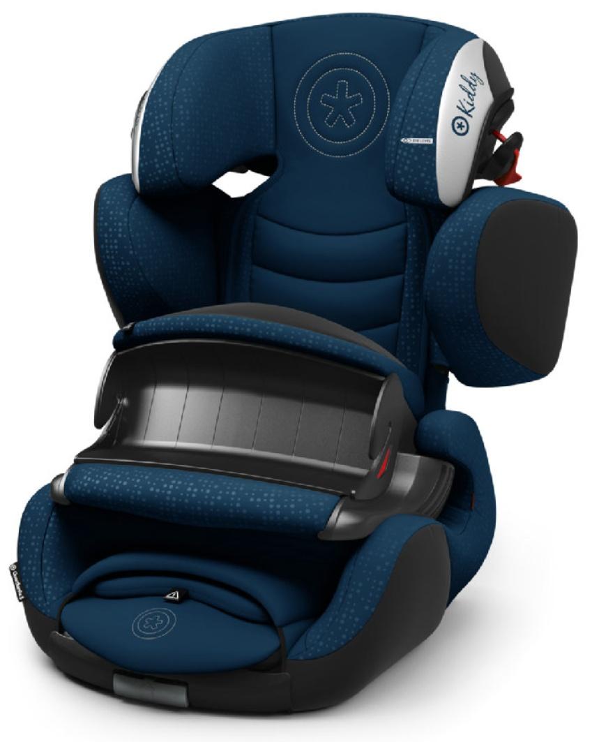 kiddy Kindersitz Guardianfix 3, 9-36 kg - Modell 2018 in den Farben blau, dunkelblau, schwarz, rot, rosa, grün & hellgrau
