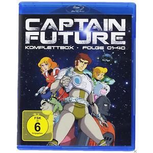 Captain Future - Komplettbox (Blu-ray) & Californication - Die komplette Serie Season 1-7 (Blu-ray für je 35€ (eBay Plus Saturn)