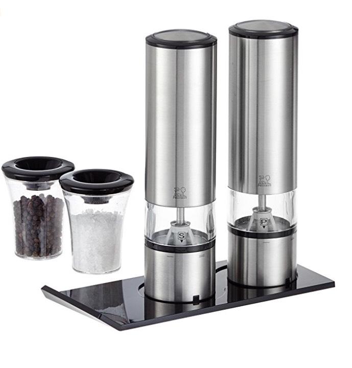 [Amazon] Peugeot Mühlen-Duo Elis Sense - elektrische Salz- und Pfeffermühle