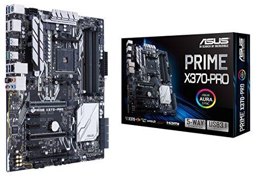 ATX-Mainboard für AMD Ryzen: ASUS Prime X370-Pro (90MB0TD0-M0EAY0), weitere Ersparnis möglich