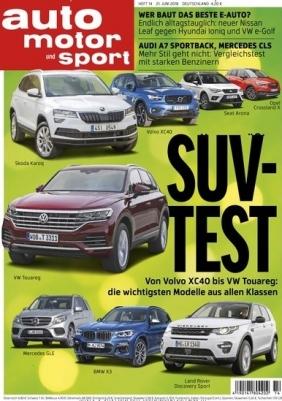 Auto Motor und Sport (7 Monate) für 59,15 € mit 60 € Bestchoice-Universalgutschein oder 55€ Amazon-Gutschein