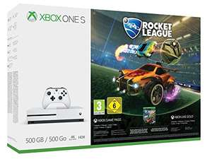 [ebay] [amazon] [saturn] Xbox One S 500GB Konsole Rocket League oder Assassins's Creed Origins Bundle für 169€ - mit Umzugsdeal für 152,10€ möglich!
