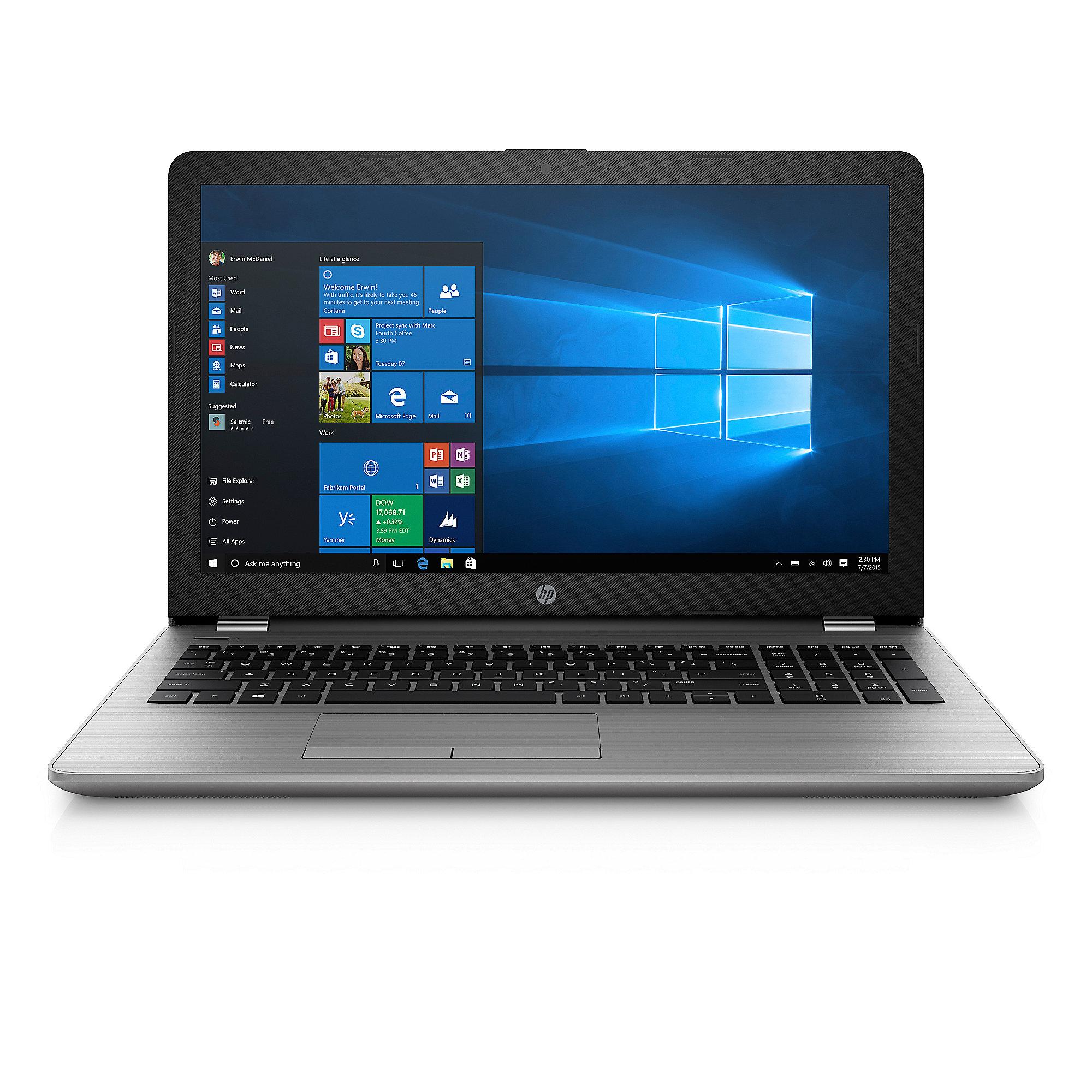 HP 250 G6 SP 2UB97ES Notebook i5-7200U mit einer SSD256 GB, Radeon 520 und WIN10